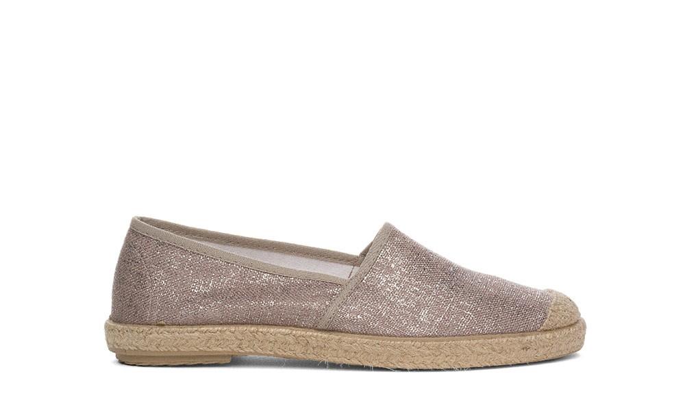 vegane espadrilles grand step shoes evita metallic plain. Black Bedroom Furniture Sets. Home Design Ideas