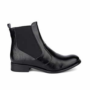 Veganer Chelsea Boot - Bourgeois Boheme Matilda Black AW 16