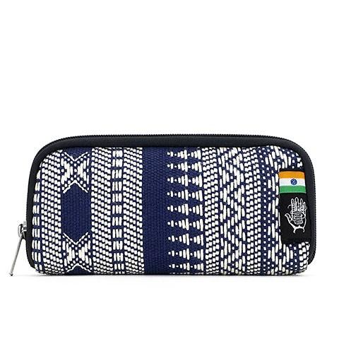 Vegane Brieftasche   ETHNOTEK Chiburi Accordion Wallet India 14