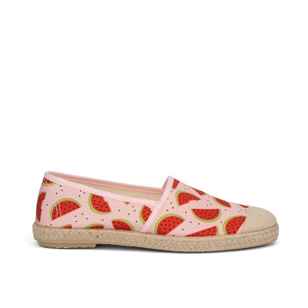 Vegane Espadrilles | GRAND STEP SHOES Evita Plain Melon