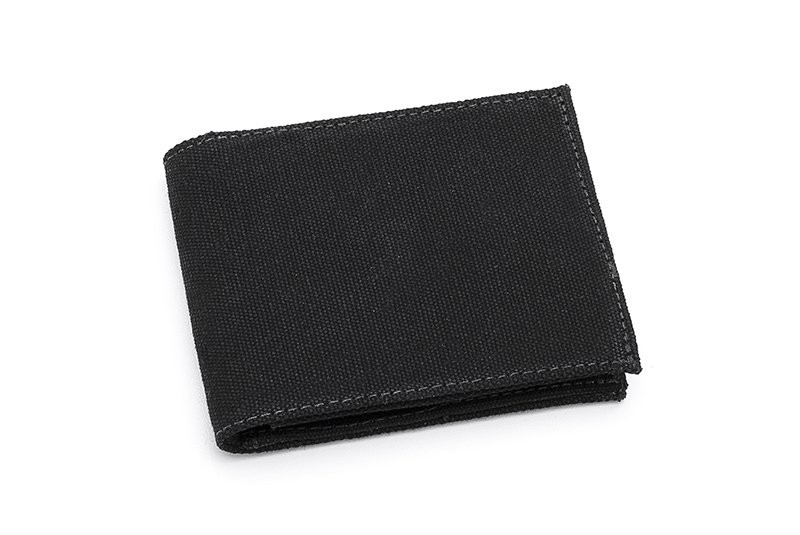 Vegane Geldbörse   AHIMSA Zipped Wallet Black
