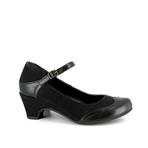 Vegane Pumps | VEGETARIAN SHOES Babette Shoe Black