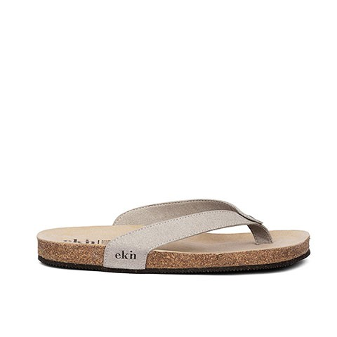 Vegane Sandale | EKN FOOTWEAR Sandal Cork Grey