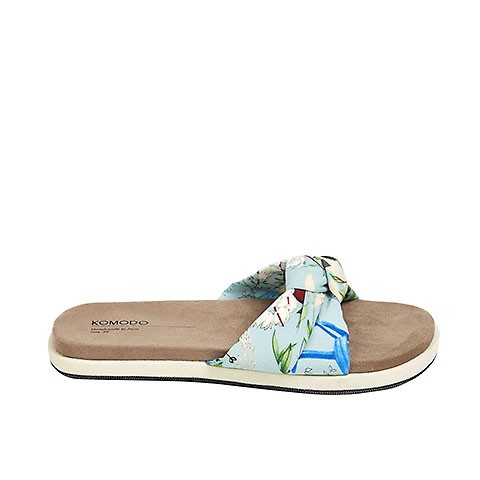 Vegane Sandale | KOMODO Edith Tropical Blue