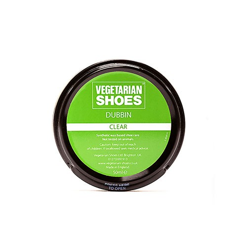 Vegane Schuhcreme | VEGETARIAN SHOES Clear Dubbin