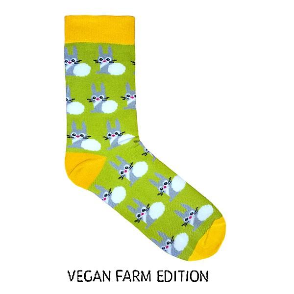 Vegane Socken | KABAK X AVESU Vegan Farm Edition Socks Billie the Bunny