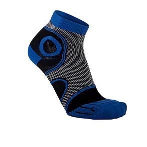 Vegane Socken   LOWA Eightsox Advanced Short Black/Dark Blue
