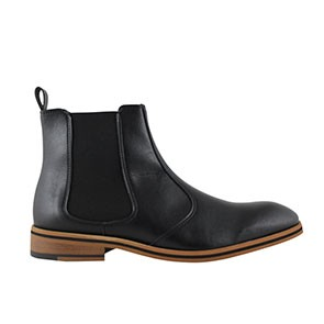 Veganer Chelsea Boot | FAIR Chelsea Boot Men Black