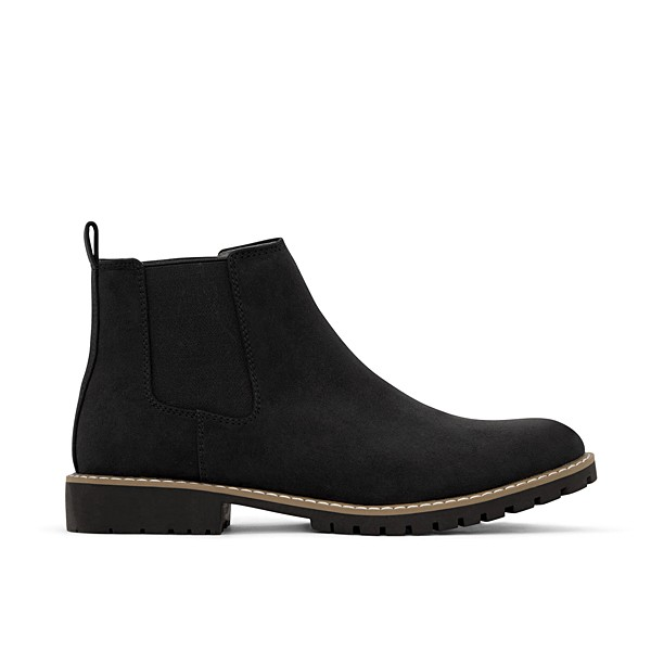 Veganer Chelsea Boot | MATT & NAT Hail Black