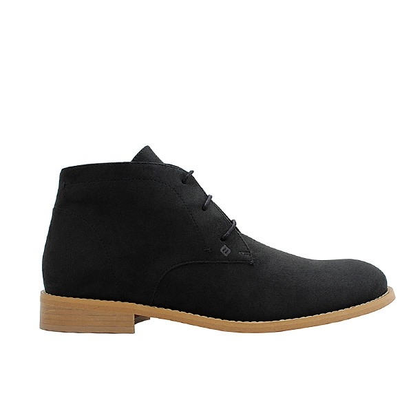 Veganer Chukak Boot | FAIR Desert Boot Black