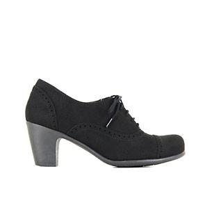 Veganer Damenschuh | VEGETARIAN SHOES Everley Shoe Black