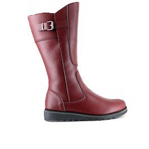 Veganer Damenstiefel | VEGETARIAN SHOES Action Boot 3 Cherry