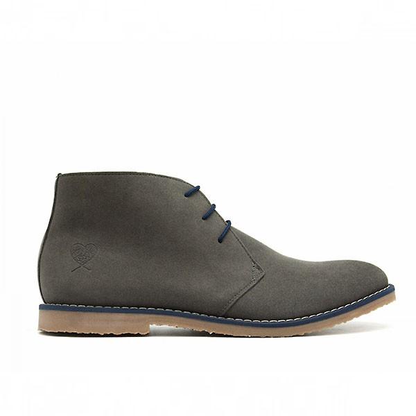 Veganer Desert Boot   NAE Lagos Grey