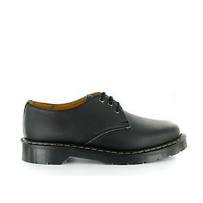 Veganer Schnürschuh - Vegetarian Shoes Airseal 3 Eye Shoe Black