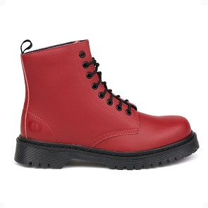 Veganer Schnürstiefel | ALTERCORE 651 D Red