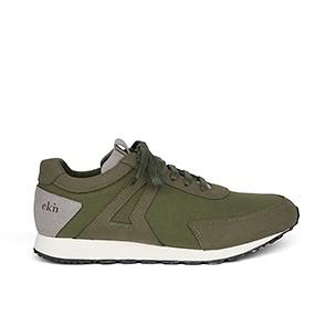 Veganer Sneaker | EKN Low Seed Runner Olive