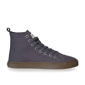 Veganer Sneaker   ETHLETIC Fair Sneaker Goto Hi Pewter Grey
