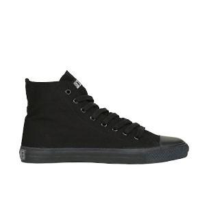 Veganer Sneaker   ETHLETIC Fair Trainer Black Cap Hi Cut Jet Black