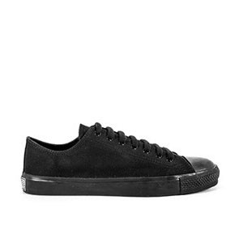 Veganer Sneaker   ETHLETIC Fair Trainer Black Cap Lo Cut Jet Black
