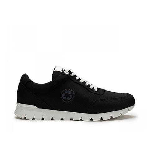 Veganer Sneaker   NAE Nilo Black