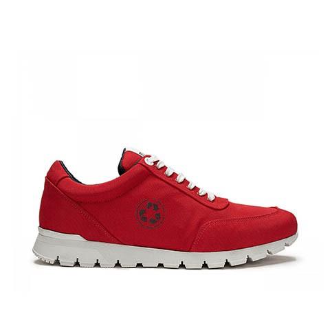 Veganer Sneaker   NAE Nilo Red