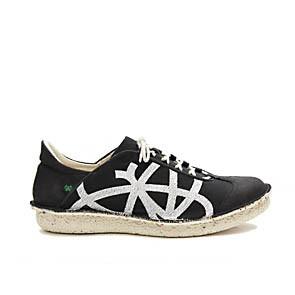 Veganer Sneaker | PO-ZU Brisk W Black White