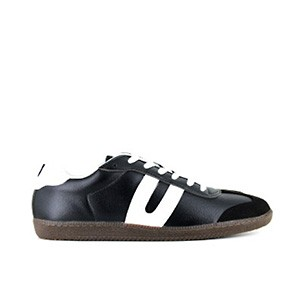Veganer Sneaker | VEGETARIAN SHOES Cheatah Black