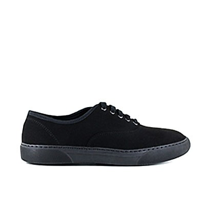 Veganer Sneaker | VEGETARIAN SHOES Kennedy Shoe Black