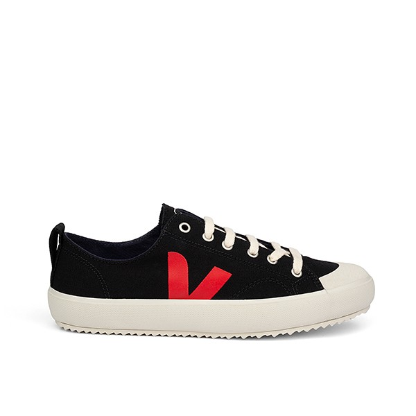 Veganer Sneaker | VEJA Nova Canvas Black Pekin