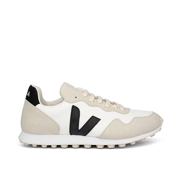 Veganer Sneaker   VEJA SDU HEXA B-Mesh Arctic Black