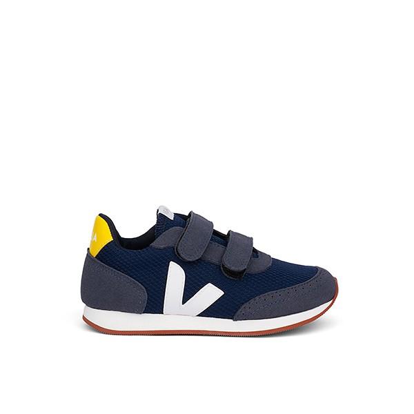 Veganer Sneaker | VEJA Small New Arcade B-Mesh Nautico White Tonic