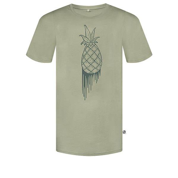 Veganes T-Shirt | BLEED T-Shirt Bloody Pineapple Olive