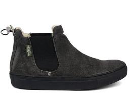 Veganer Sneaker | JONNYS VEGAN Talca Hemp Negro