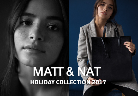 MATT & NAT Holiday Collection 2017 | Vegane Taschen und Rucksäcke