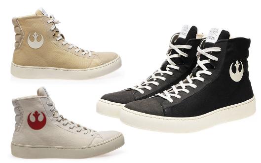 STAR WARS Kollektion von PO-ZU | Vegane Sneaker und Chewie Boots