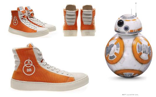 STAR WARS BB-8 Sneakers | STAR WARS SCHUHE VON PO-ZU