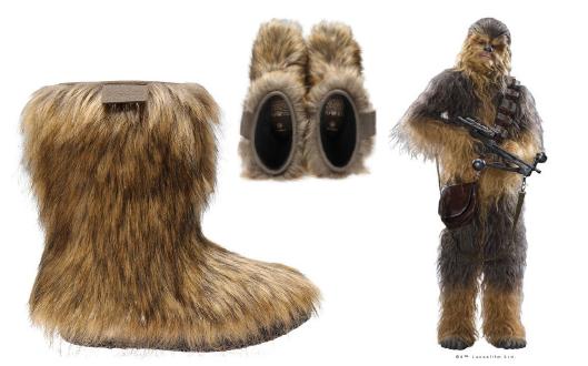 STAR WARS Wookie Boots | PO-ZU Chewie | Veganer Wookie Stiefel