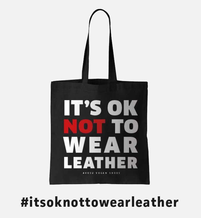 Vegane Tragetasche von AVESU | It's Ok Not To Wear Leather | Shop Online!